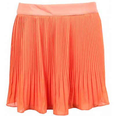 saia plissada laranja 1