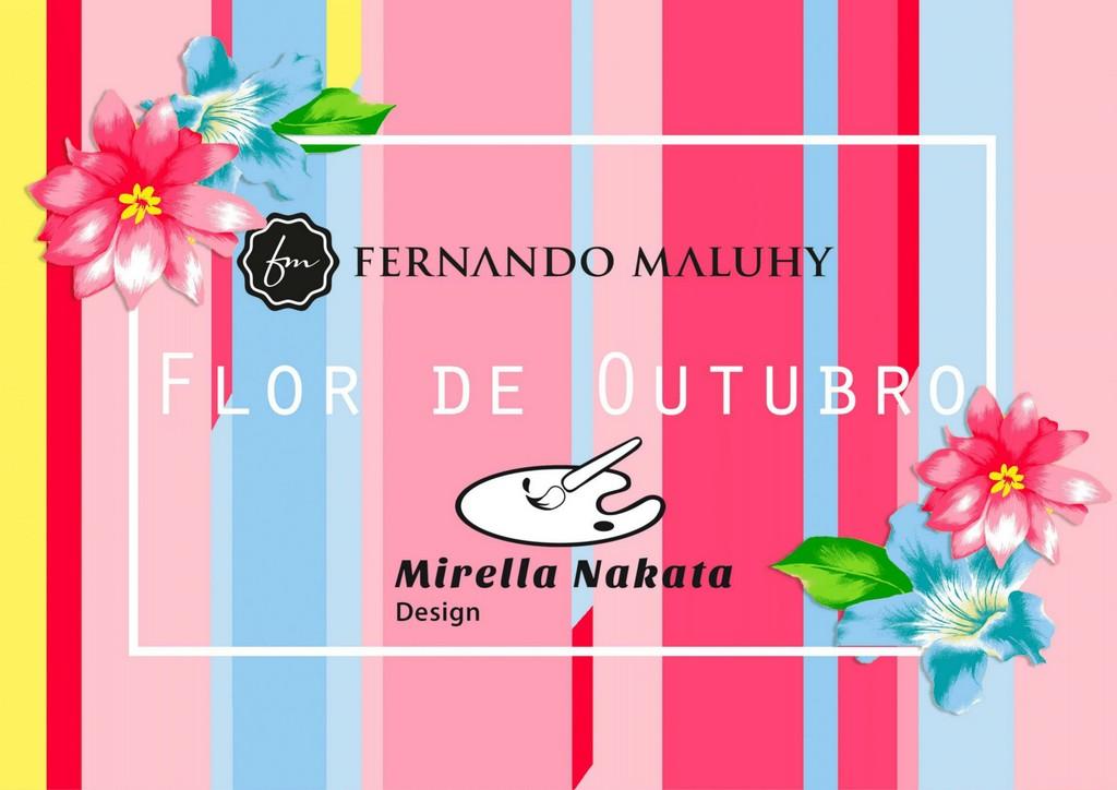 Catalogo colecao Mirella Nakata Flor de Outubro 1