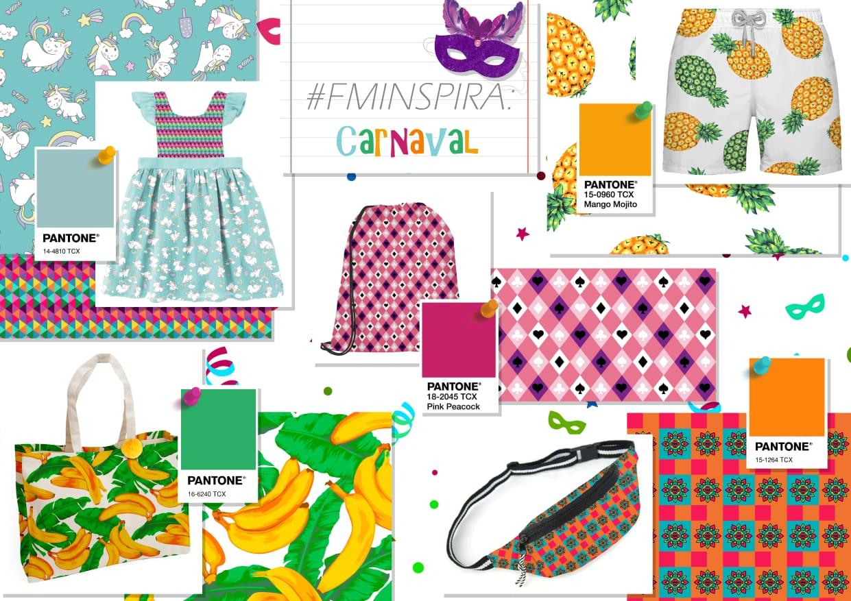 Artigos para Carnaval com Tecidos Fernando Maluhy