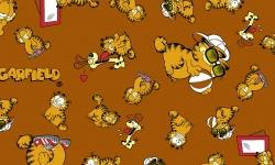 GA006C03 Garfield - expressão fd marrom