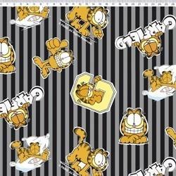 GA012C02 Coleção Garfield garfield com listras cinza