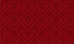 29052C03 Coleção Roses in Bloom Arabesco Vermelho