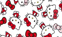 hk002c01 Coleção hello kitty lances fd branco