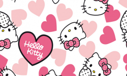 hk004c01 Coleção hello kitty hearts