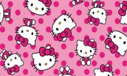 hk005c01 Coleção hello kitty dots