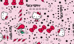 hk007c01 Coleção hello kitty tatoo patchwork