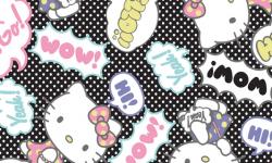 hk009c01 Coleção hello kitty pop art ballon