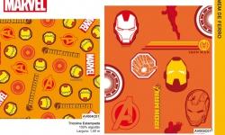 Catalogo Colecão Marvel Fernando Maluhy Homem de Ferro AV003C01 AV004C01